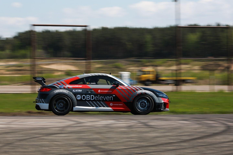 Audi TT RS testai Nemuno žiede
