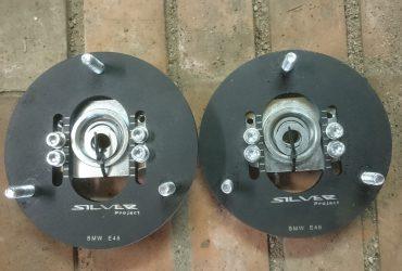 BMW e46 priekiniu amortizatoriu reguliuojamos atramos