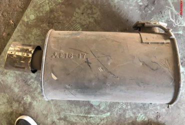 Mitsubishi lancer evo galinis išmetimo bakelis