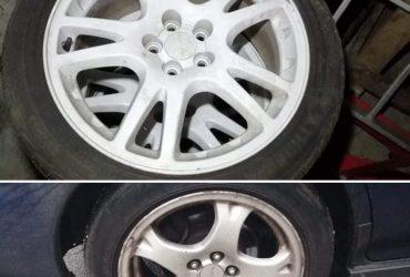 R17 5×100 STI ratai ir R16.