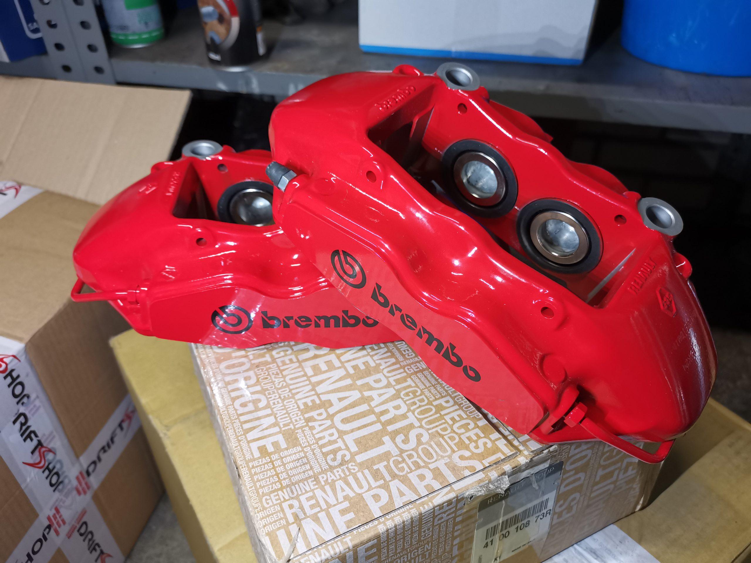 Parduodu Brembo suportus Renault Megane RSIII