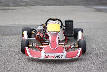 Parduodamas sportinis KZ2 klasės kartingas