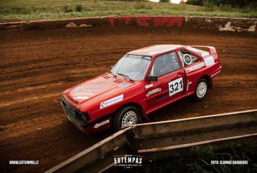 "Lietuvos automobilių kroso ""Open 4500"" vice čempiono automobilis"
