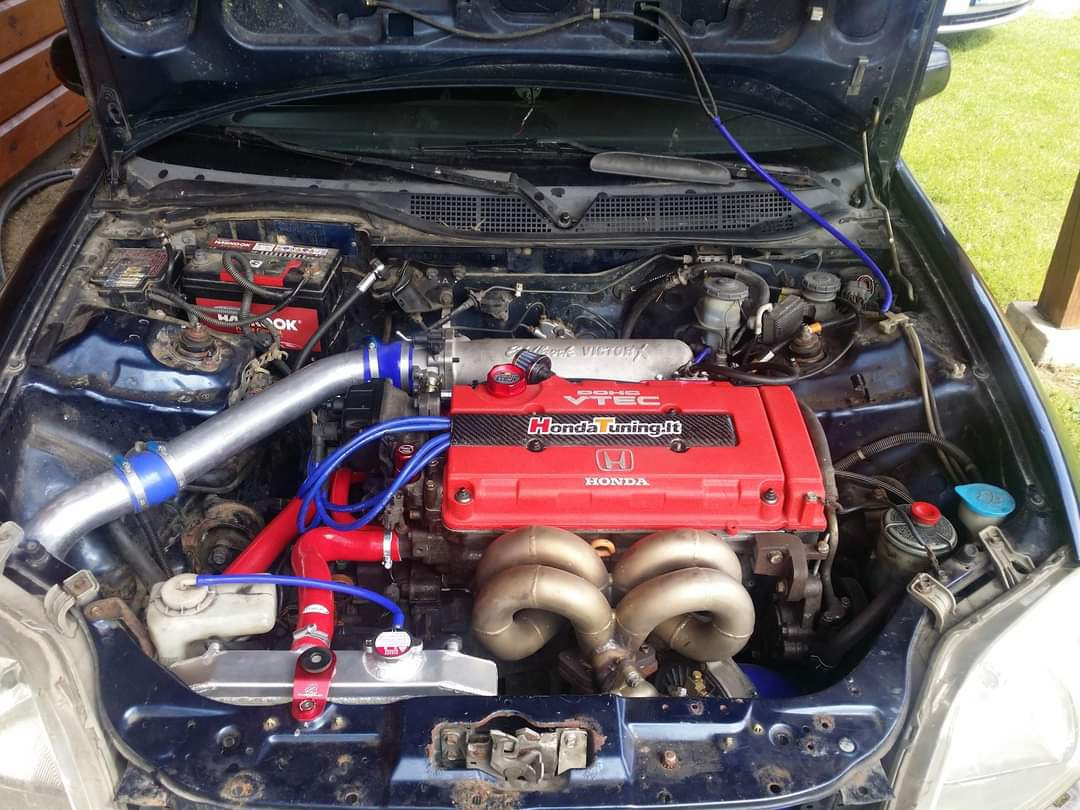 Honda civic 1,8 turbo