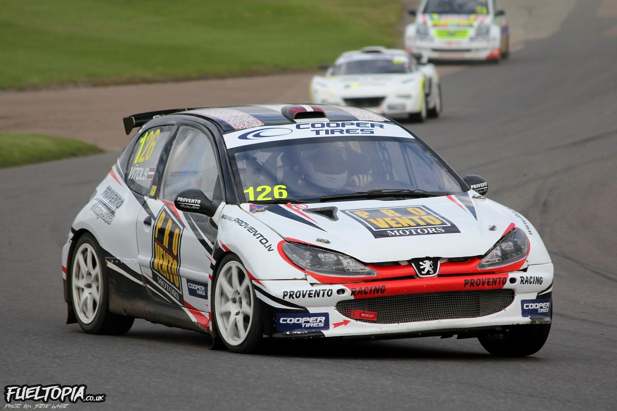 British 2020 and Latvian 2019 Championship Winning S1600 Rallycross Car For Sale + Spare Engine