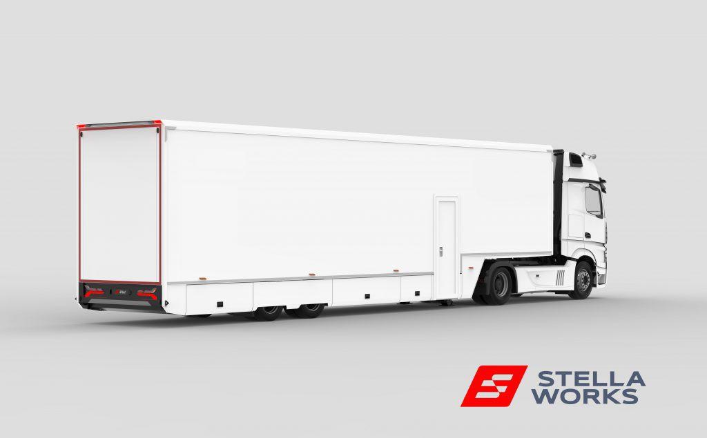 PRO Series race trailer by Stella Works