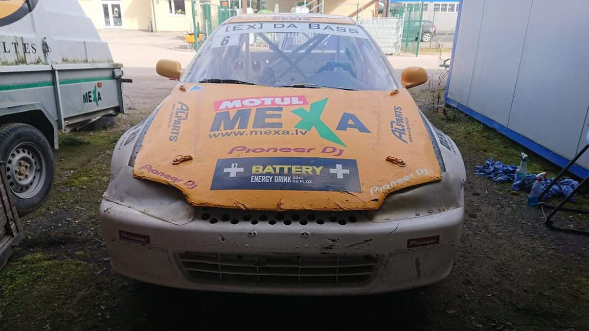 Autocross / rallycross Honda Civic