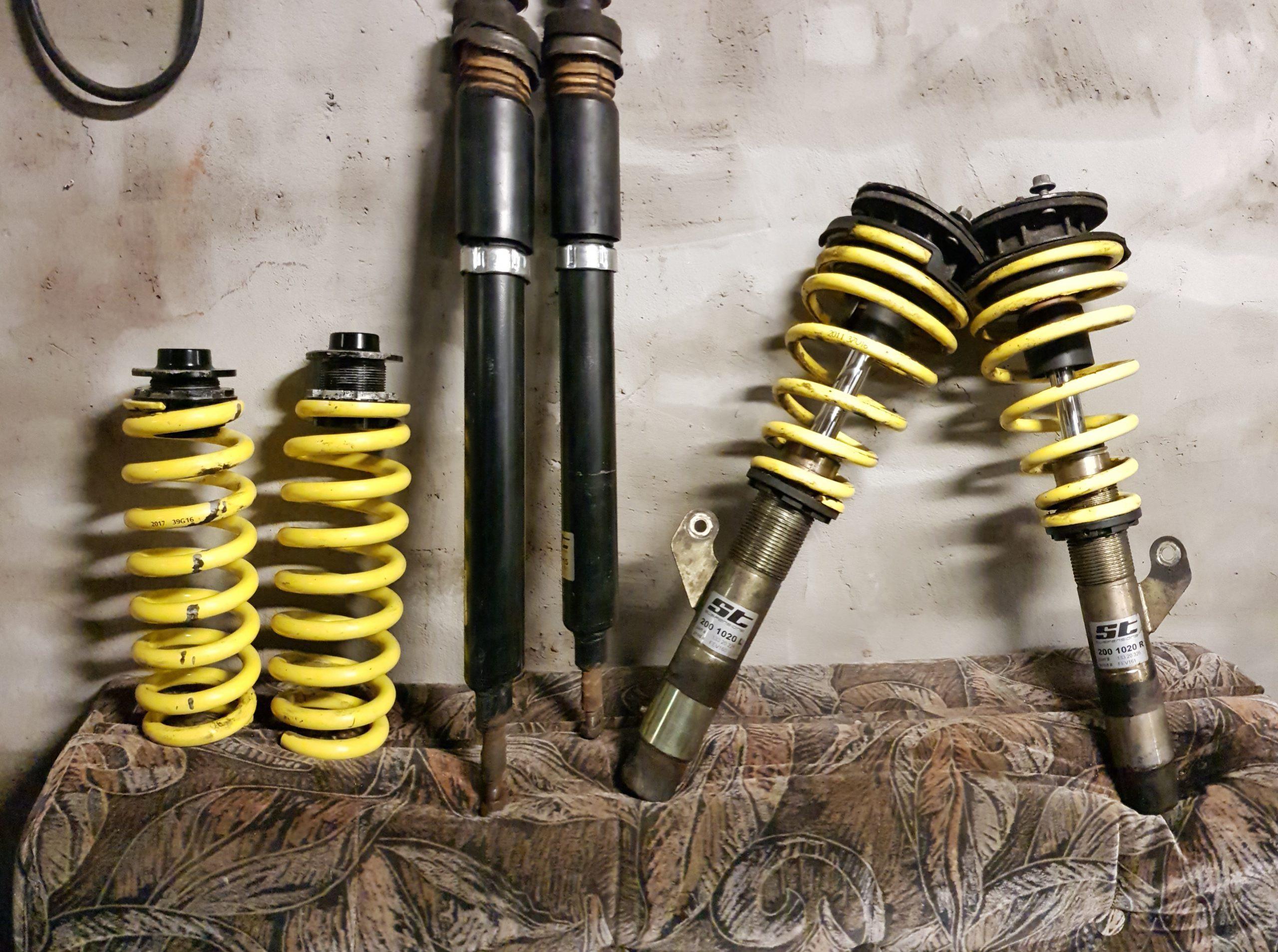 St suspensions coilai