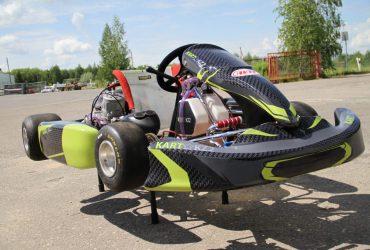 Sportinis kartingas KZ2_K9 125CC 50ag